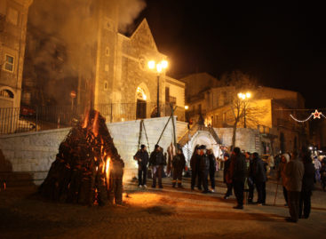 Alberona, ecco i fuochi di Sant'Antonio