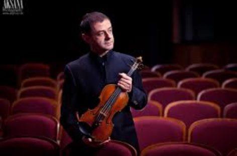 Il violinista foggiano Dino De Palma con la Filarmonica di Craiova diretta da Walter Attanasi