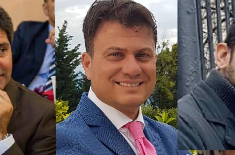 Consiglieri comunali di Foggia Cataneo Pertosa Russo Nicola
