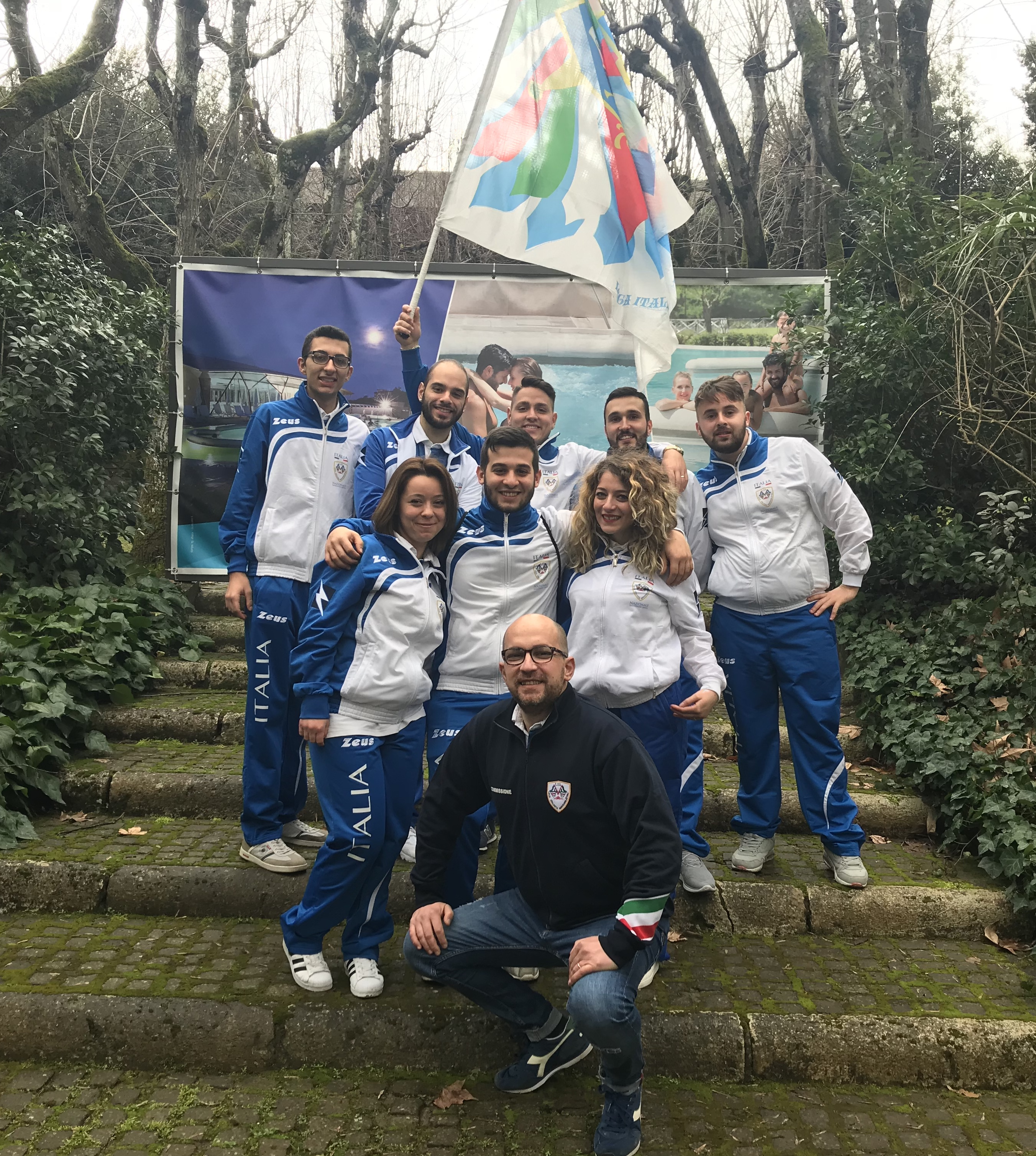 Otto atleti pugliesi (di Lucera) nella Nazionale della Lega Italiana Sbandieratori