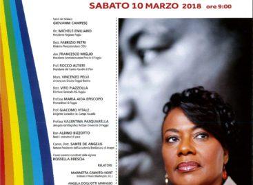 Pace e Nonviolenza, a Monteleone Bernice Albertine figlia di Martin Luther King