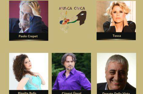 Paolo Crepet e Tosca super ospiti di Musica Civica
