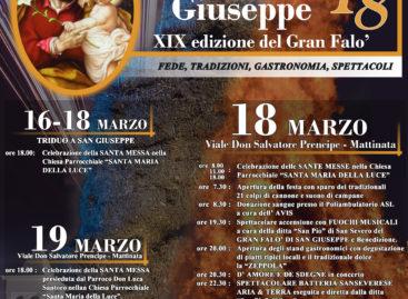 Festa di San Giuseppe – XIX Edizione del Gran Falò