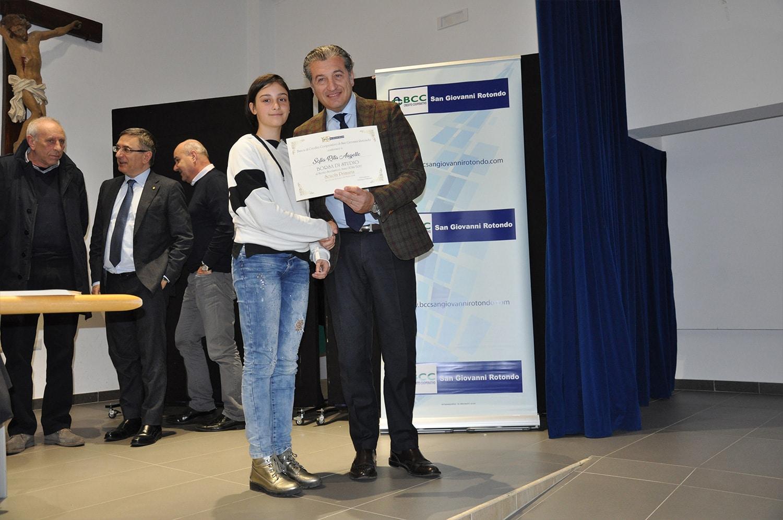 La BCC San Giovanni Rotondo premia le eccellenze del territorio