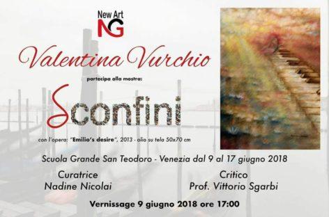 Valentina Vurchio espone a Venezia
