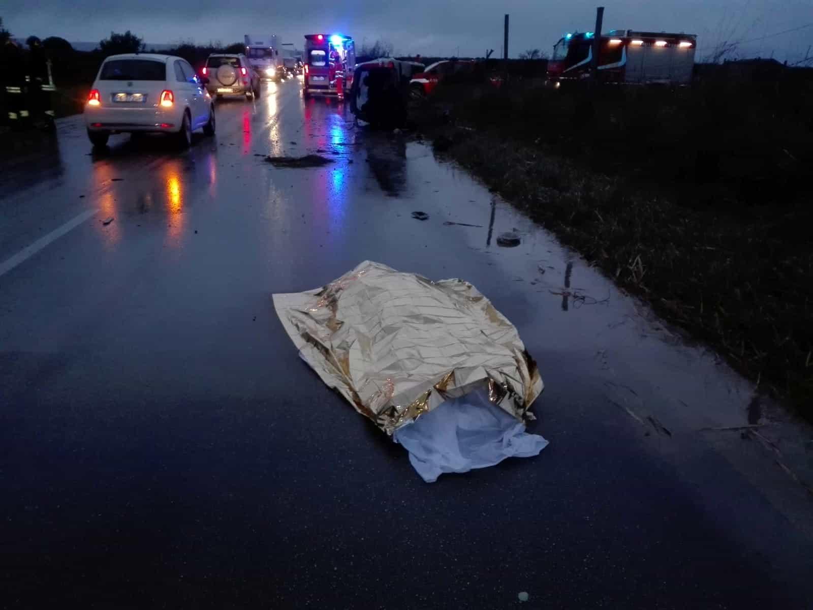 Torremaggiore: un incidente mortale pochi minuti fa sulla strada di San Severo, ha perso la vita Nicola Maiorano